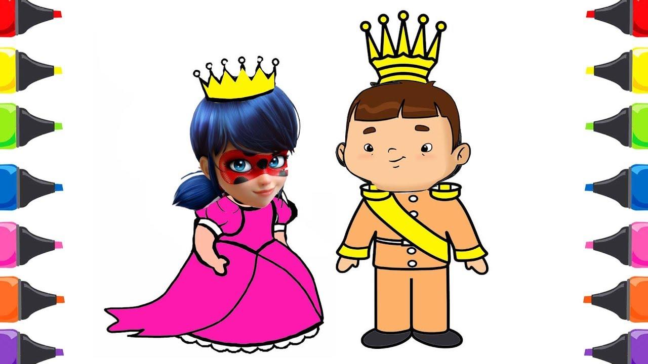 Mucize Ugur Bocegi Ozi Prens Prenses Boyama Renkleri Ogreniyorum