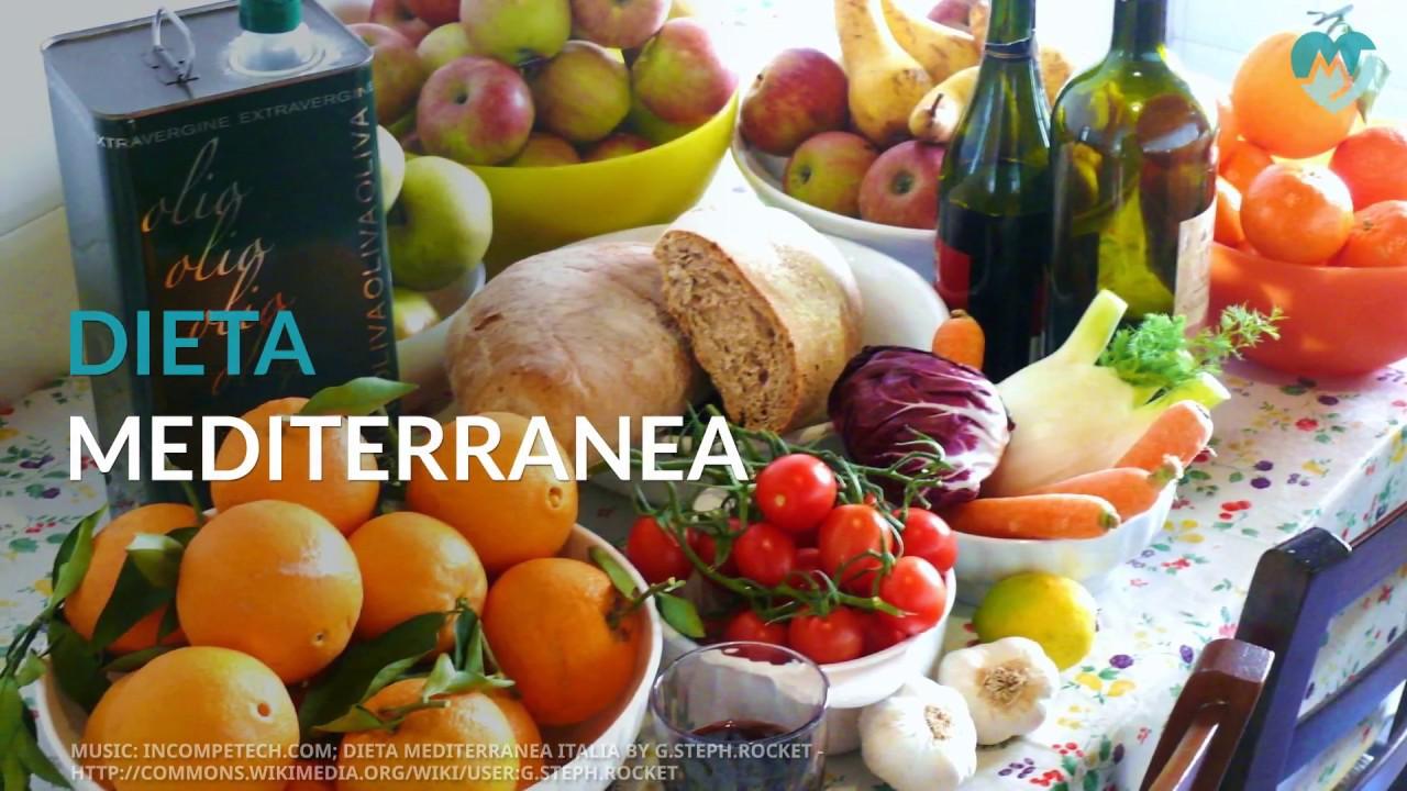 cosa include una dieta mediterranea