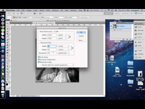 how to increase resolution of image or pdf