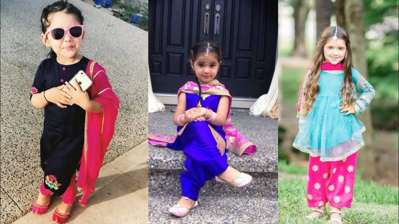 Top Punjabi Suits For Baby Girl 2020 || Indian Wear Desses For Baby Girls