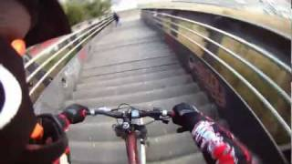 Barcelona Collserolla 2012 - Freeride - Downhill - 18/02/2012 Video 1/1