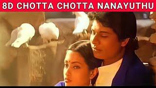 Chotta Chotta Nanayuthu | Taj Mahal | Manoj | Riya Sen | A.R Rahman | 8D Song | Music 360*