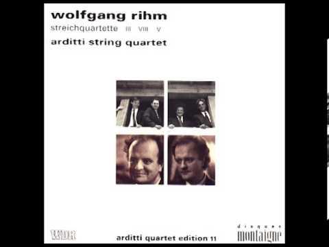 "Wolfgang Rihm — String Quartet No. 3 ""im Innersten"" (6th Movement, Arditti String Quartet)"