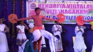 vande mataram song kv vizianagaram 9th annual day celebrations on 28th april 2016