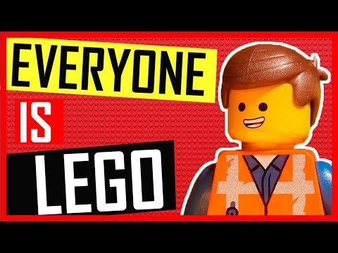 The Lego Movie: UK Red Carpet Premiere - Everyone turned into Lego characters