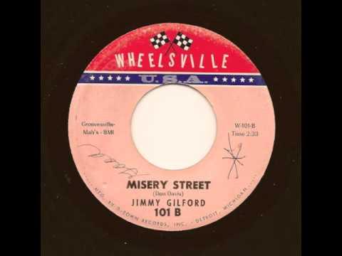 JIMMY GILFORD - Misery Street - WHEELSVILLE