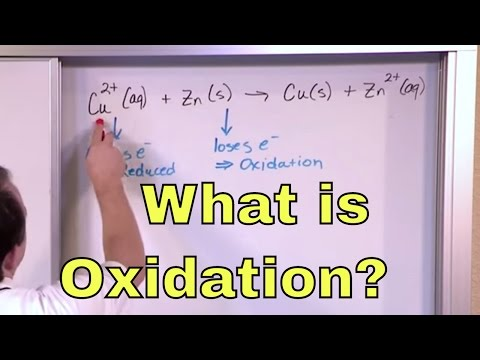 01 - What Is Oxidation? Learn the Definition of Oxidation, Oxidation Numbers & Oxidizing Agents