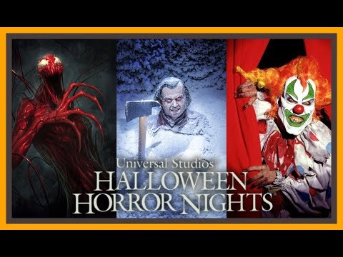 Top 6 BEST Halloween Horror Nights Mazes of All Time!  Stix Top 6  Universal Studios