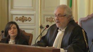Inaugurazione anno giudiziario 2016 - Tar Bari