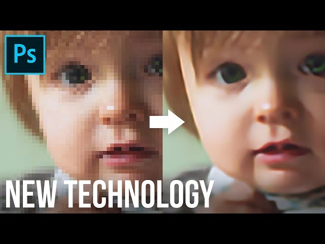 Hidden Technology to Convert Low to High Resolution in Photoshop