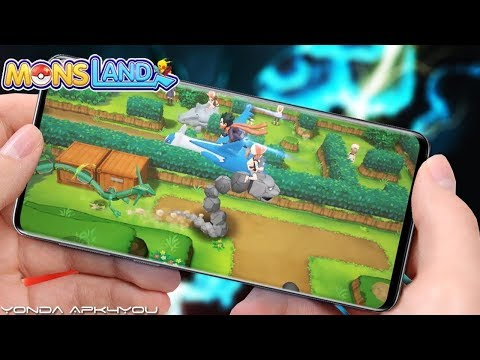 New Pokemon Game Download! Mons Land - Android IOS Gameplay