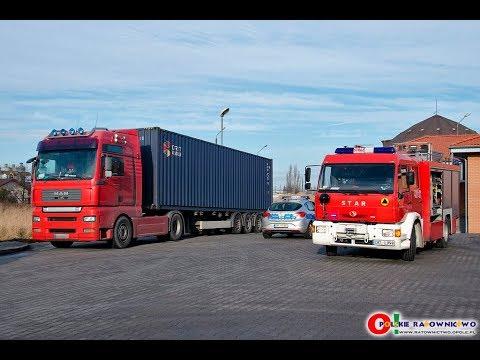 Złodzieje w Kluczborku uszkodzili bak ciężarówki - doszło do wycieku