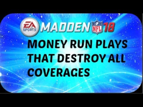 THE BEST RUN PLAY IN MADDEN 18 TO BEAT ALL COVERAGE |Madden 18 Tips & Tutorial
