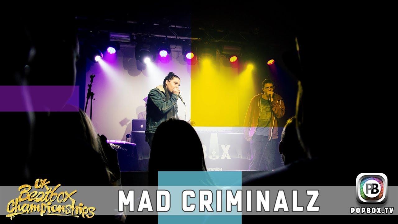 Mad Criminalz   Team Elimination   2017 UK Beatbox Championships