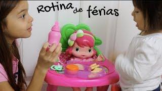 MINHA ROTINA DA TARDE NAS FÉRIAS! Brincando de Boneca, Brincando no parquinho e tomando sorvete!