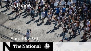 CBC News: The National | Aug. 30, 2020 | Clashes in Portland end with one dead