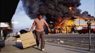 "South Central L.A. Riots - 1992 After ""Not Guilty"" Verdict"