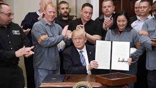 US President Trump set to impose steep tariffs targeting China