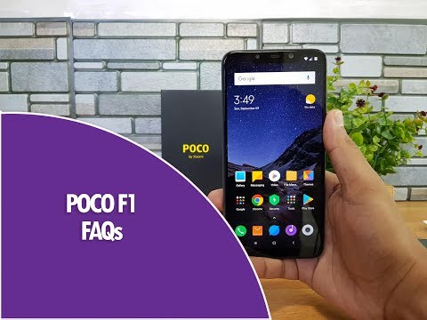 Poco F1 FAQs- Sensors, Fast Charging, LED Notification, Screen on Time, Software and Camera