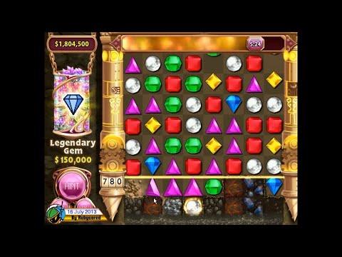 Bejeweled 3 Diamond Mine - 40 Minutes run (2.55 Million)[720p]