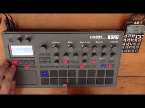 Electribe 2 Drone Demonstration (no gaps or clicks)