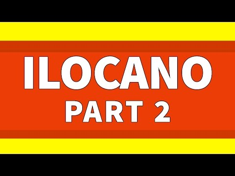 Learn Ilocano 500 Phrases for Beginners Lesson 2 - Greetings