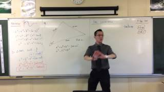 The Cosine Rule (2 of 3: Basic Example of Finding Sides)