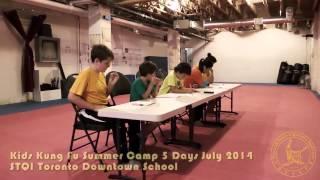 Shaolin Martial Arts Kung Fu Summer Camp 2014