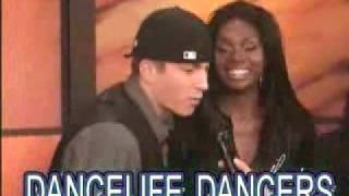 Dancelife dancers on the Ellen DeGeneres Show