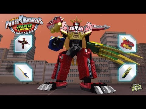 Power Rangers Dino Charge Rumble   STING RAGE RAMPAGE Challenge!