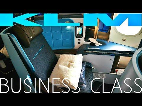 KLM BUSINESS CLASS Amsterdam to Abu Dhabi|Boeing 787-9 Dreamliner