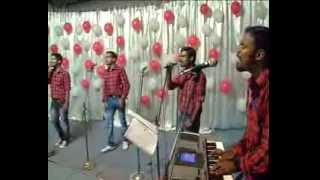 ilam manjil bhoomi mungum nimisham x mas song live by  AMARAVILA YOUTH CHORUS