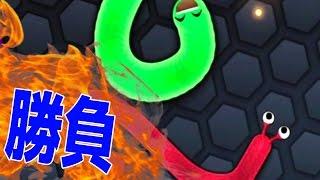 友達とミミズ版Agar.ioで激しすぎる闘いをしたら・・・ - 実況プレイ thumbnail