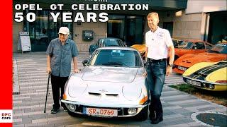 50 Years Opel GT Celebration in Hockenheim
