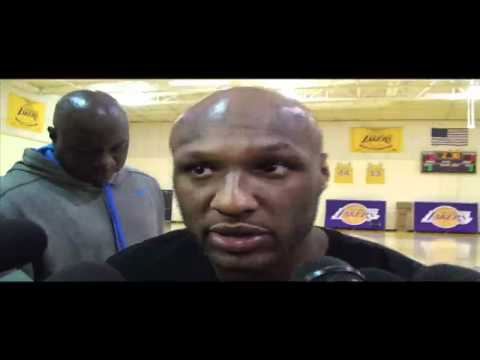Lakers forward Lamar Odom on possibly winning sixth man of the year