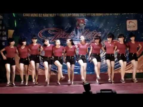 Aerobic of Dynamics girls - Nữ Sinh THPT Cửa Lò 22/3/2013