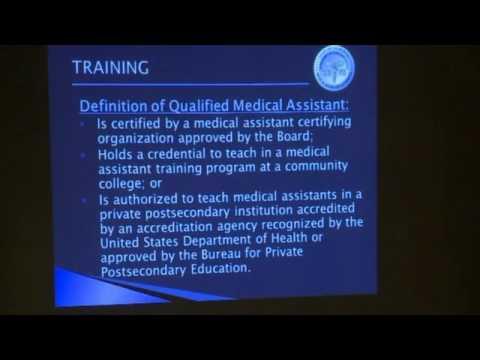 Presentation on Medical Assistants - April 28, 2017 - YouTube