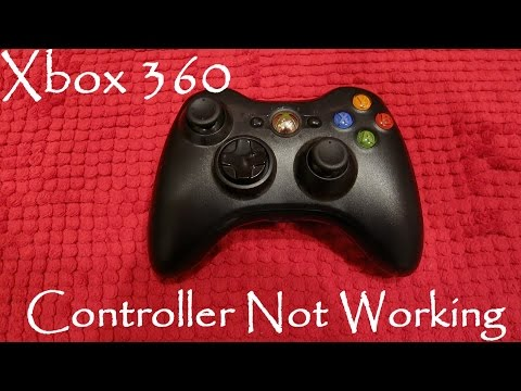 Xbox 360 Wireless Controller Not Working After Putting In New Batteries FIX