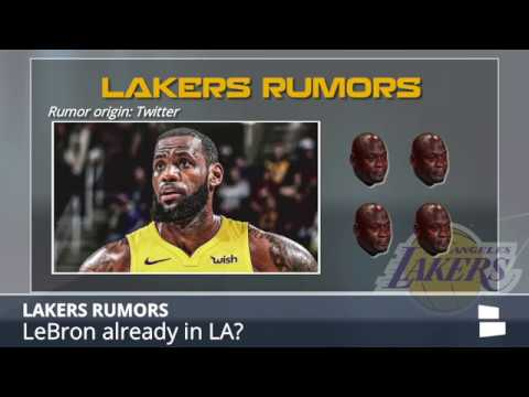 Lakers Rumors: LeBron Lands in LA, Kawhi Trade Has Cooled, Paul George Update