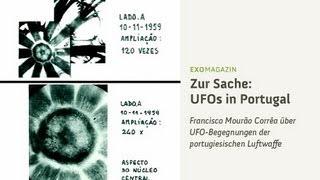 UFO-Begegnungen der portugiesischen Luftwaffe - Francisco Mourão Corrêa | ExoMagazin