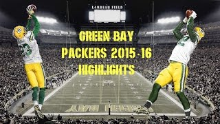 Green Bay Packers 2015-16 Highlights
