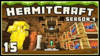 HermitCraft 4: Awesome Interior Design For A Minecraft Blacksmith Shop  - part 5