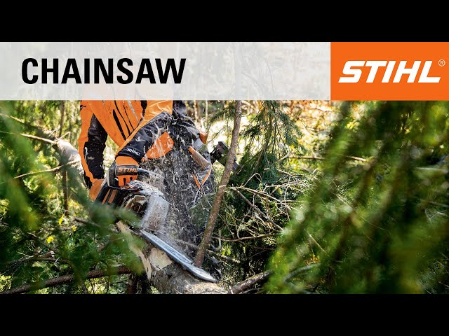 Mixing fuel and operating STIHL mistblower