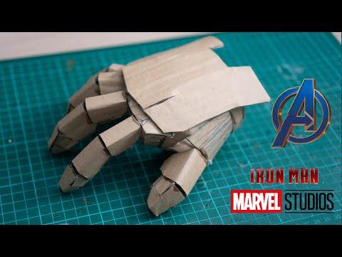 part1:-make-cardboard-iron-man-hand-mark-85-avengers4-endgame