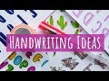 COOL HANDWRITING IDEAS 😍🌵📚 CUTE HANDWRITING STYLES FOR HEADINGS & SCHOOL NOTES