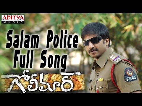 Salam Police Full Song ll Golimaar Movie ll Gopichand, Priyamani