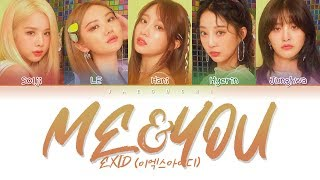EXID (이엑스아이디) - ME&YOU (Color Coded Lyrics Eng/Rom/Han/가사)
