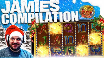 JAMIE'S £100 BONUS SPIN UP! Bust The Bank, Genie Jackpot Megaways, Book of Dead and more!