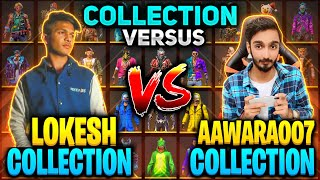 Lokesh Gamer Vs AAWARA Funniest 🤣 Collection Versus Diamond King Freefire || Free fire