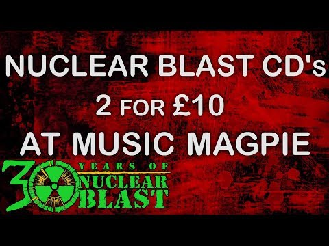NUCLEAR BLAST UK - Music Magpie 2 for 1 offer (OFFICIAL TRAILER)